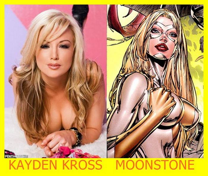 Kayden Kross como Moonstone
