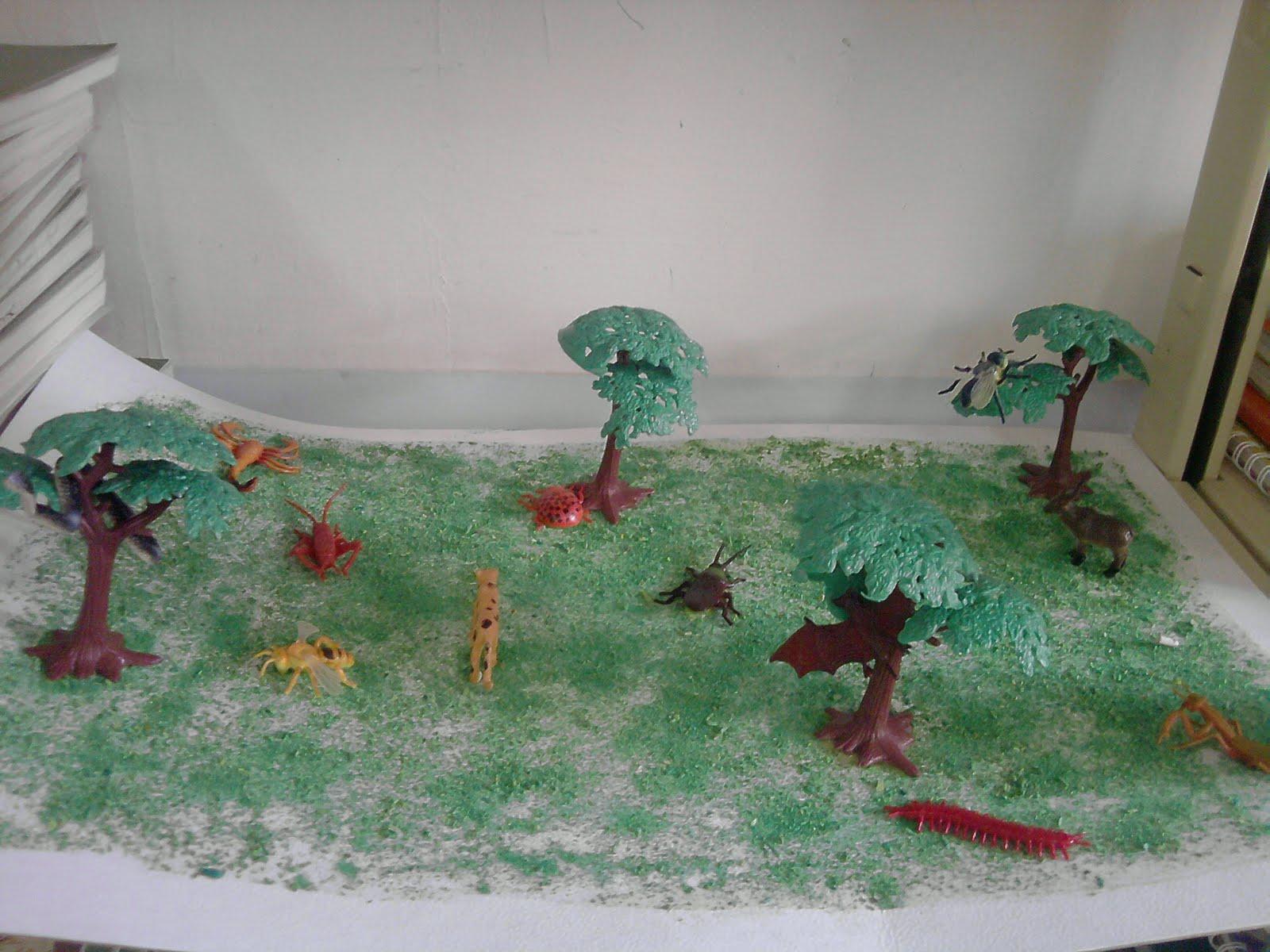 Maqueta sobre selva imagui - Como hacer ambientadores naturales ...