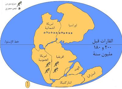 نظرية زحزحة القارات ( فيجنر )