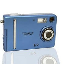 VistaQuest VQ5115B 5 Megapixel Digital Camera (Blue)