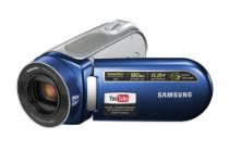 Samsung SC-MX20 Flash Memory Camcorder w/34x Optical Zoom (Blue)