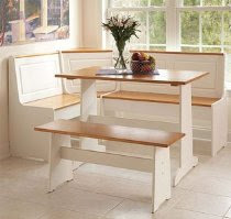Ardmoore Nook Set - White/ Natural