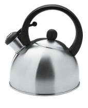Copco Escort 1-1/2-Quart Brushed Stainless Steel Teakettle