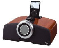 Acoustic Research Clock Radio with Dock for iPod and MP3 Players