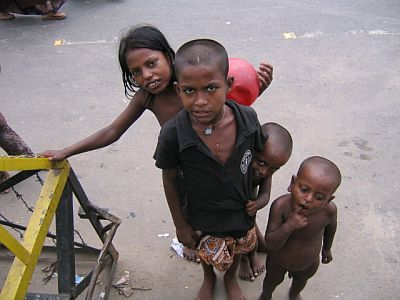 why are there street children
