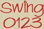 Swing Font