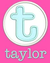 Taylor Applique Font
