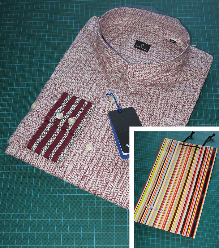 Making my 11th doctor costume paul smith reissue shirt for Paul smith doctor who shirt