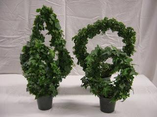 Ivy Topairy Plants