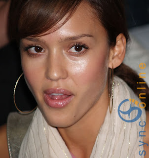 Top 3 Sexiest Woman of the year 2009 Jessica Alba Cute Closeup Image