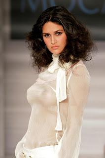 Leryn Franco Hot See-through Dress