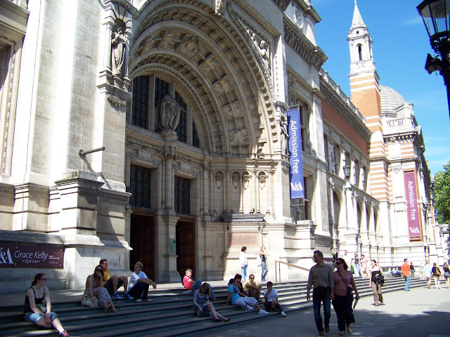 Victoria and Albert Museum Building London
