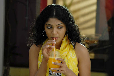Actress Rima kallingal Drinking Juice