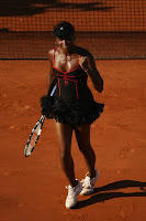 Venus Williams in Tennis Mini Skirt