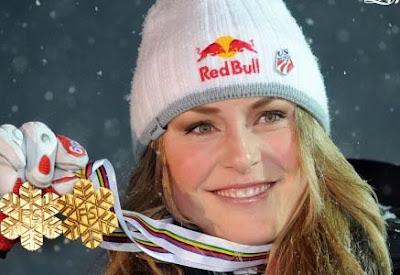 Lindsay vonn Gold Medalist