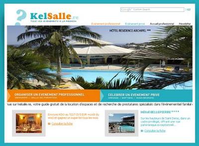 guide gratuit de location de salle et d'espaces de réception pour des évènements professionnels ou privés à La Réunion: