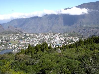 Cilaos village de montagne