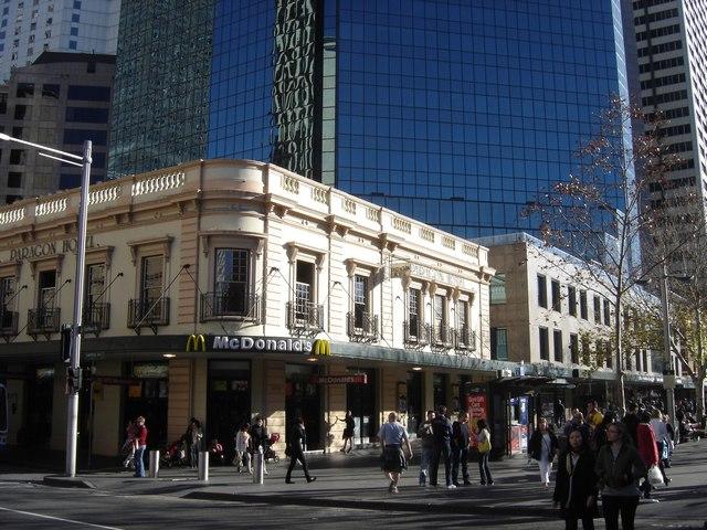 Sydney City près de Circular Quai