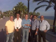 Pedro Pacheco y su equipo se reunen con la Mesa Nacional del BNA