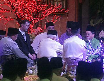 perkahwinan ketua menteri serawak