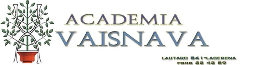 Academia Vaisnava La serena
