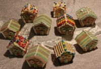 Make Miniature Gingerbread Houses Christmas 2012