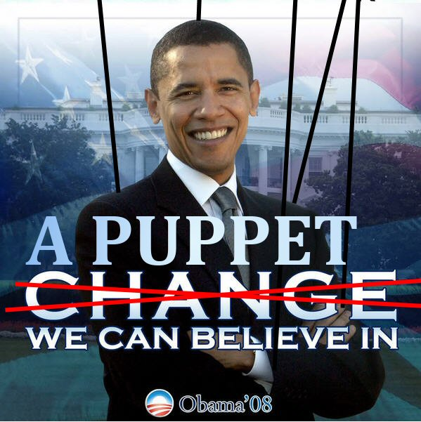 puppet obama