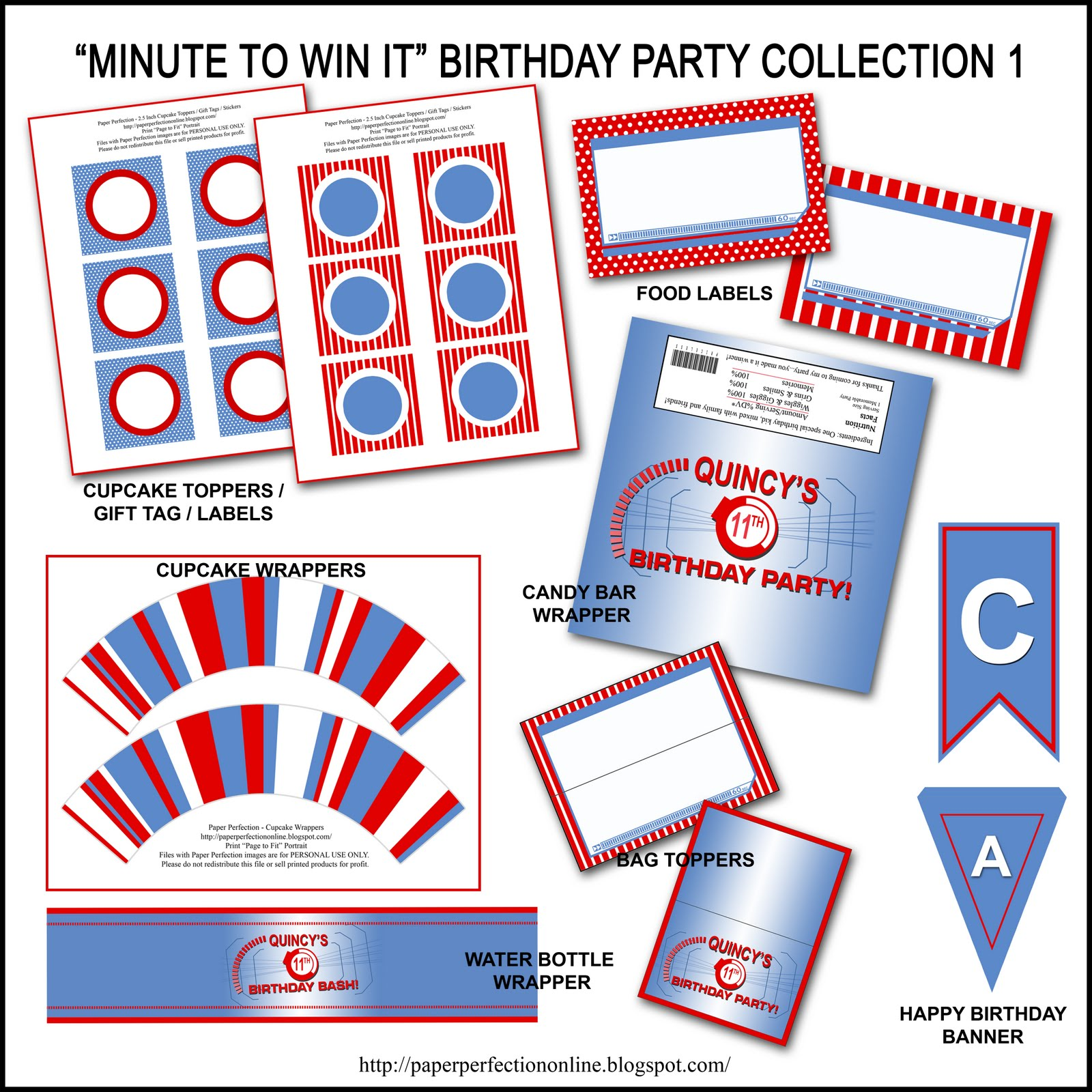"Paper Perfection: Free ""Minute To Win It"" Birthday Party"
