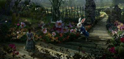 Alicia en el País de Burton Alice-rabbit