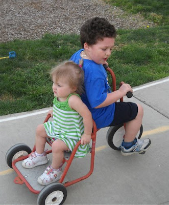 Kids Tricycling