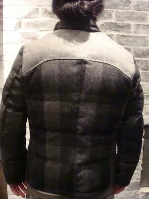 Btb Gtf Xxx The North Face Purple Label Loden Steiner Puffa Jacket