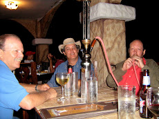 Larry and friends smokin' a Hookah!