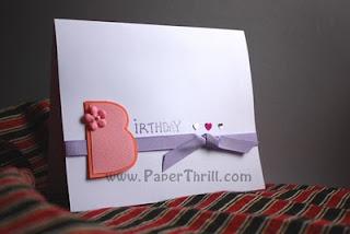 Handmade Cupcake popup birthday card