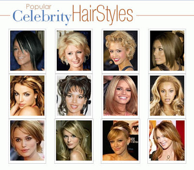 hairstyle for round face shape. square face, as will any sleek style