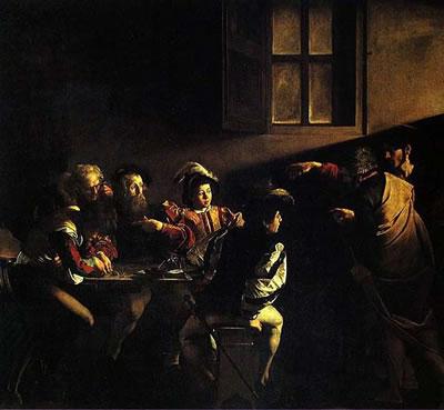 Caravaggio's Corner: La vocazione di San Matteo