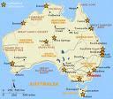 maps of australia