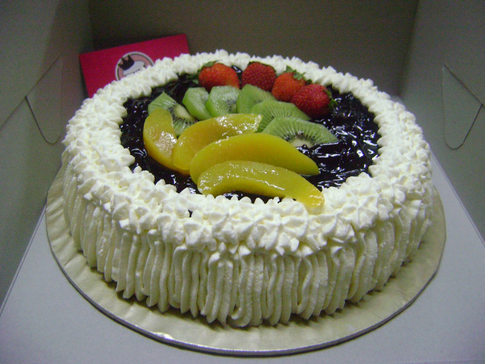 "IreneBakeLove: ""Blueberry Cheese Cake & Fruit Tartlets"""