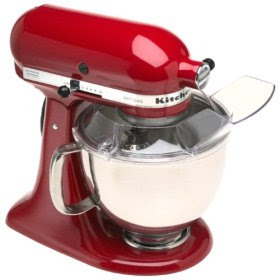 kitchen aid chrome stand mixer