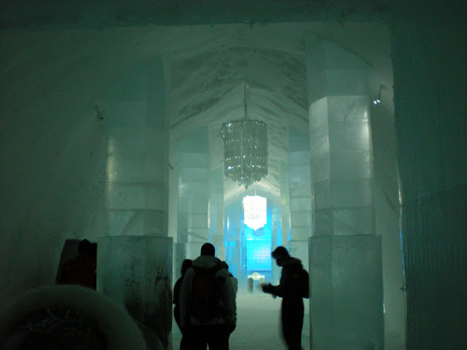 The Ice Hotel in Kiruna