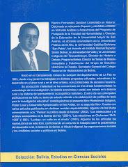 HISTORIADOR BOLIVIANO