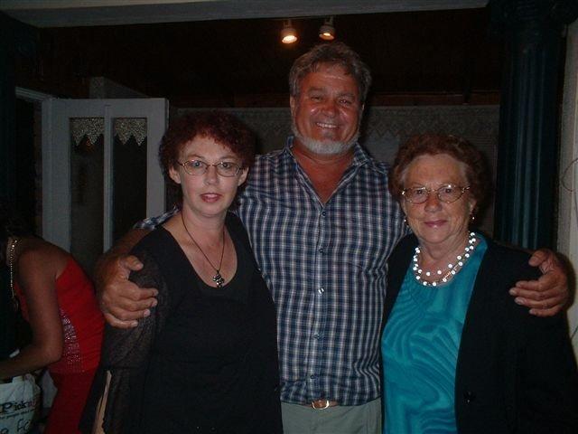 Cecile, Alwyn & Mamma Kersfees 2005