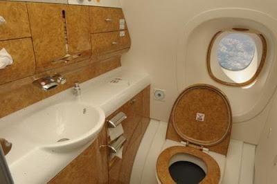 El avión más lujoso del mundo en Dubai Fotos