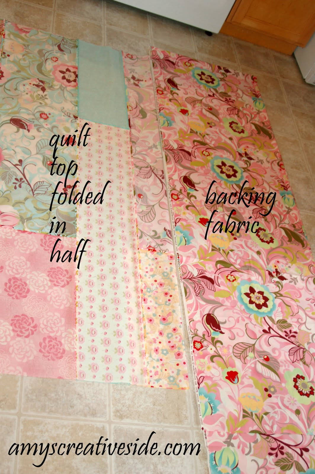 Basics Tutorial: Prepping A Quilt Back - Amy's Creative Side : quilt backing - Adamdwight.com