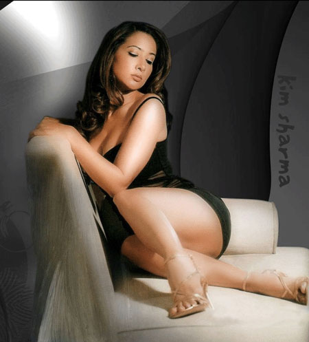 Kim Sharma Photos And Wallpapers Hot Model very cute and sexy poses