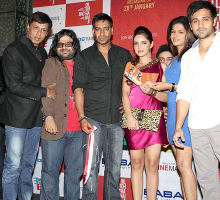 Dil Toh Baccha Hai Movie Audio Launching Photos