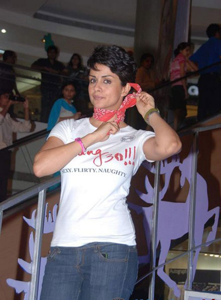 gul panag in tshirt at turning promotional event at inorbit mall glamour  images