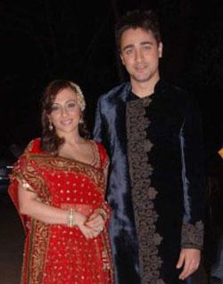 Imran Khan and Avantika Mal - Imran Avantika Mehndi Sangeet Pics