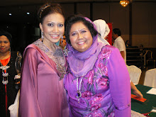 Me with one of the judges that night The Iron Lady Datuk Maznah Hamid.