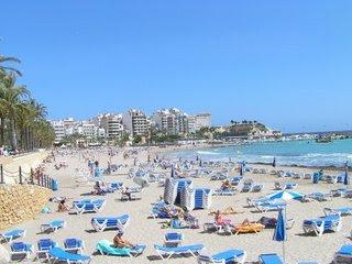 Playa del pueblo de Quico