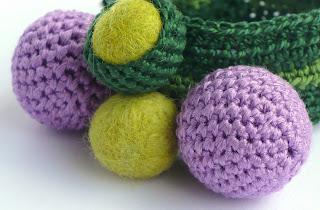 OTTUPURA & DODOO: crochet bracelet